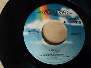 "BOSTON - Amanda / My Destination. - 7"" Single  US pressing"