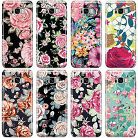 SHABBY ROSE CHIC PRINTS FLORAL PHONE CASE COVER FOR SAMSUNG GALAXY PHONES 2