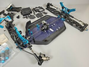 """Used Tamiya TRF801XT R/C 1/8 Off Road Buggy """"Chassis and Parts ONLY"""" For Parts"""