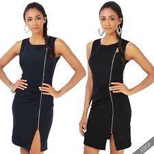 Polyester Crew Neck Short/Mini Casual Dresses for Women