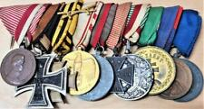 Vintage rare WW1 & WW2 Austria-Hungary set of 10 military medals
