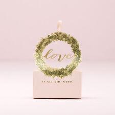 10/pk Love Wreath Favor Boxes Bridal Shower Wedding Favor Boxes