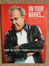 THE SUNDAY TIMES MAGAZINE JEREMY CLARKSON COVER HAMMOND MAY GRAND TOUR TOP GEAR