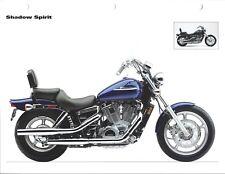 Motorcycle Data Sheet - Honda - Shadow Spirit - 2004 - Specifications (DC635)