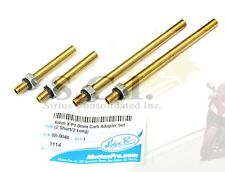 YAMAHA FZR400 FZR600 FZR1000 6mm MOTION PRO CARB TUNING BRASS ADAPTERS