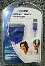 Cables To Go USB-A Male to IEEE-1284 DB25 Female Parallel Printer Adapter New