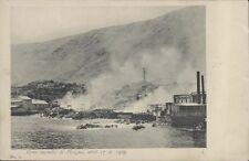 CHILE PISAGUA GRAN INCENDIO ABRIL 17 DE 1905 N° 1