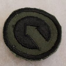 VIETNAM 1ST DESIGN SUBDUED US 1ST LOG COMMAND IN VIETNAM EMB ON TWILL