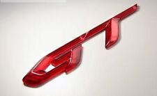 GT Logo Tuning 3D Emblem Clear Red for Hyundai Elantra MD