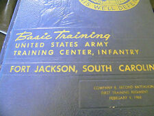 MILITARY YEAR BOOK  FEB. 9 1962 BASIC TRAINING FORT JACKSON, SOUTH CAROLINA