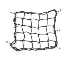 40x40cm Cargo Net Elasticated Bungee Luggage Storage Car Motorcycle Bike 6 Hooks