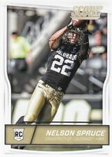Nelson Spruce, (Rookie) 2016 Panini Score Football Trading Card, #378