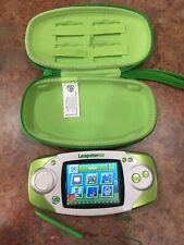 LeapFrog Leapster GS Handheld Learning System w/ Travel Case - Mint !!!