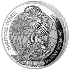 Ruanda - 50 Francs 2020 - Nautical Ounce - Mayflower (4.) - 1 Oz Silber PP