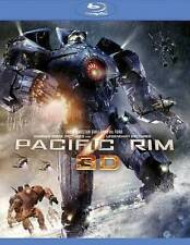 Pacific Rim (Blu-ray/DVD, 2013, 3-Disc Set, Includes Digital Copy UltraViolet 3D