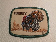 WILD GOBBLER TOM TURKEY IN STRUT BOW CALL SPORTSMAN GUN HUNTING PATCH NEW