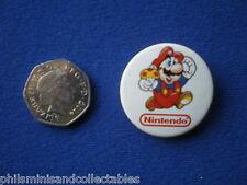 Nintendo Super Mario  pin badge   1980s