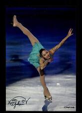 Yukari nakano top foto original firmado patinaje artístico + a 139438