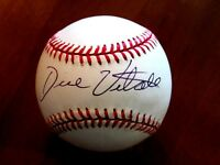 "DICK VITALE "" DICKIE V "" SPORTS BROADCASTER SIGNED AUTO BASEBALL JSA AUTHENTIC"