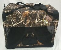"""Realtree Max 4 Deluxe Heavy Duty Camo Dog Kennel/Blind - 27"""" L x 20"""" W x 20"""" H"""