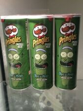 3 Cans of PringlesRick and Morty Limited Edition Potato Chips 5.5 oz (3 lot)