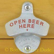 OPEN BEER HERE Starr X Wall Mount Bottle Opener NEW!