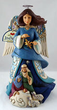 """2016 Jim Shore """"Wrapped In Holy Love"""" Angel Figurine"""