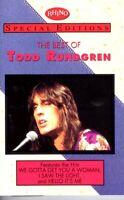 Todd Rundgren The Best Of 1992 Hard Classic Rock Roll Cassette Tape Pop