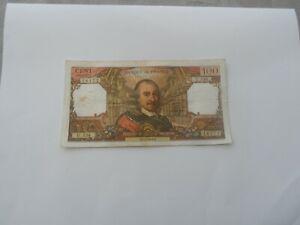 billet 100 francs corneille 1971 u.538