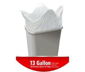 LOOSE no box GLAD GARBAGE BAGS TALL KITCHEN 13 gallon LOT 16 + 3 Pr THIN GLOVES