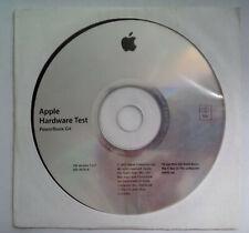 APPLE MAC HARDWARE TEST CD PowerBook G4 / SW version 1.2.3 / 691-4076-A / 2002