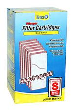 "x6 Tetra Whisper FILTER CARTRIDGES ""S"" SMALL Fish Aquarium Crystal Clear Water"