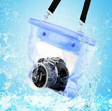 20M Waterproof DSLR SLR Camera Underwater Housing Case Pouch Bag For Canon Nikon