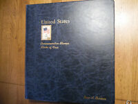 United States Postage Stamp Album with 59 Numbered & Priced Stamps 160-39B