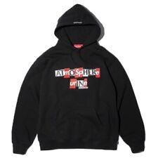 Supreme Antihero Hooded Sweatshirt Black Size Medium