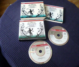 2CD MOZART GA Marriner The Magic Flute Zauberflöte Te Kanawa Philips PDO W-Germ