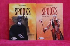 Spooks - tome 2 & 4 -   Rossi, Dorison, Nury - (Anglais)