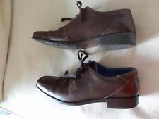 UK 8 *M&S AUTOGRAPH*Smart brown leatherOxford lace-up brogue shoes mens