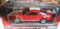 MUSTANG SHELBY GT500 2007 - WELLY 1/24 NEUF