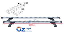 Crossbars 1260mm ISUZU DMAX Roof Rack Whispbar HD roof rack PAIR 2012- 2017