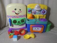 A2  Fisher-Price Laugh & Learn Play Kitchen, Accessories