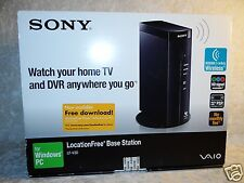 Saio Sony Location Free Base Station LF-V30 Watch TV DVR Anywhere Wireless PSP