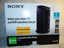 Saio Sony Location Free Base Station LF-V30 Watch TV DVR Anywhere Wireless PSP