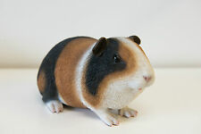 Outdoor Garden Resin Animal Gift Ornament Pet Small Brown White Black Guinea Pig