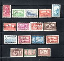 FRANCE COLONIES ALGERIA  STAMPS USED    LOT 16912