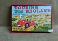 Touring England Game - Family Board Game with cars cards and dice