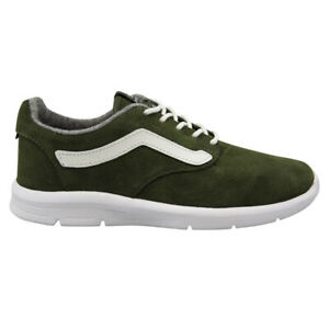 Vans LXVI Off The Wall Iso 1.5 Denim Green Suede Lace Up Unisex Trainers XB8JBD