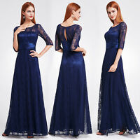 Ever-Pretty Formal Long Sleeve Prom Gown Bridesmaid Dresses Evening Party 08878