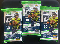 2020 Donruss Football 30 Card Value Pack CELLO/FAT Pack Sealed--Lot of 3!