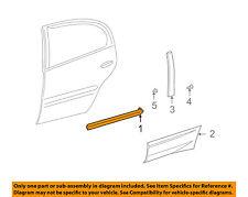 Pontiac GM OEM 00-05 Bonneville Exterior-Rear-Side Molding Left 12483104